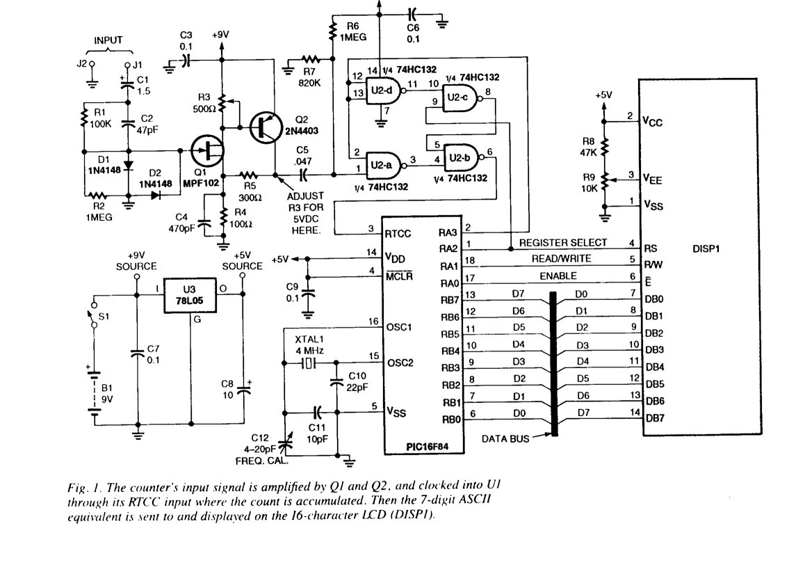 Frequency Counter Old Project Revisit Circuit Design Http Paulfjujofreefr Freq Images Weedfreq